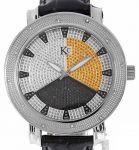 """Мъжки часовник """" TECHNO COM """" с естествени брилянти"""