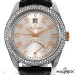 """Мъжки часовник """"HAUREX"""" с естествени кристали"""