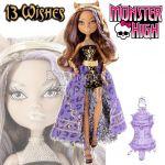 Monster High - 13 Wishes Кукла Клоудин Уолф с аксесоари Y7705