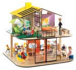 Djeco - Къща за кукли Color House DJ07803